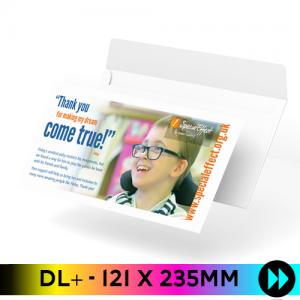 121 x 235mm - Printed Full Colour