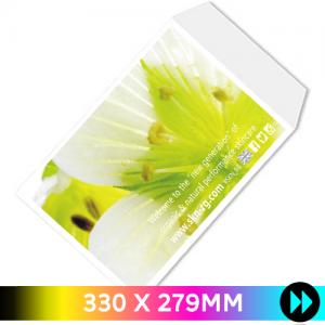 330 x 279mm - Printed Full Colour