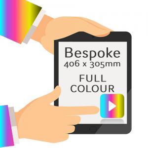 406 x 305mm - Printed Full Colour