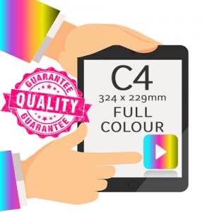C4 - Printed Full Colour