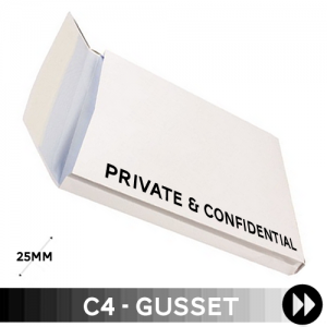 Gusset C4 - Printed Single Colour