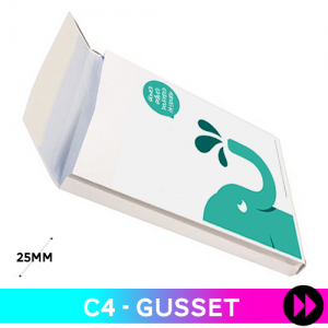 Gusset C4 - Printed Two Colours