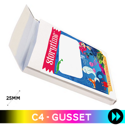 Gusset C4 - Printed Full Colour