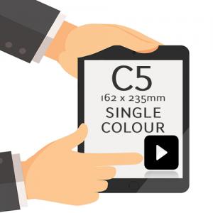 162 x 235mm - Printed Single Colour