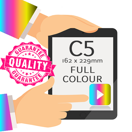 C5 - Printed Full Colour