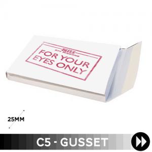 Gusset C5 - Printed Single Colour