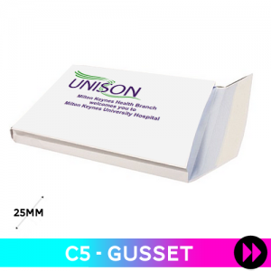 Gusset C5 - Printed Two Colours