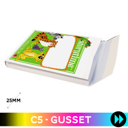 Gusset C5 - Printed Full Colour