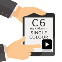 C6 - Printed Single Colour