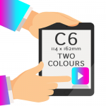 C6 - Printed Two Colours