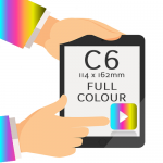C6 - Printed Full Colour